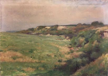 Jules-Cyrille Cavé (1859-c.1940)  La lande...