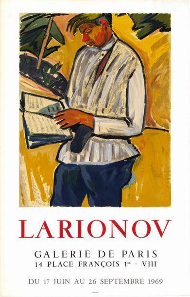 Mikhaïl LARIONOV - 1969 - 2 affiches