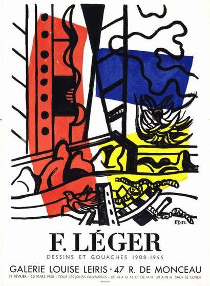 Fernand LEGER - 1958
