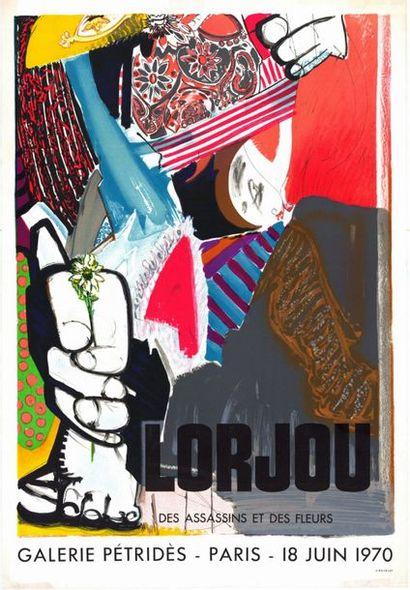 Bernard LORJOU - 1970/1972 - 2 affiches