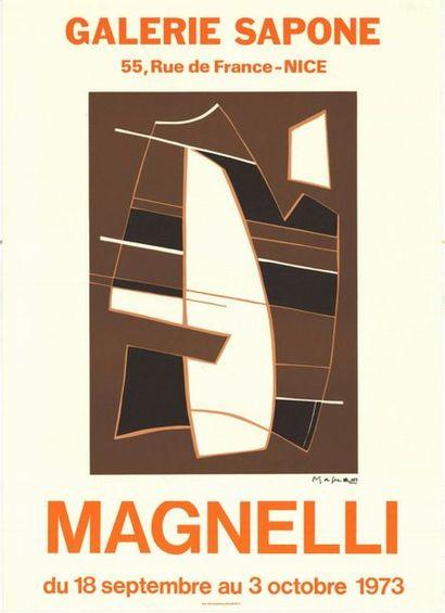 René MAGNELLI - 1973 - 3 affiches