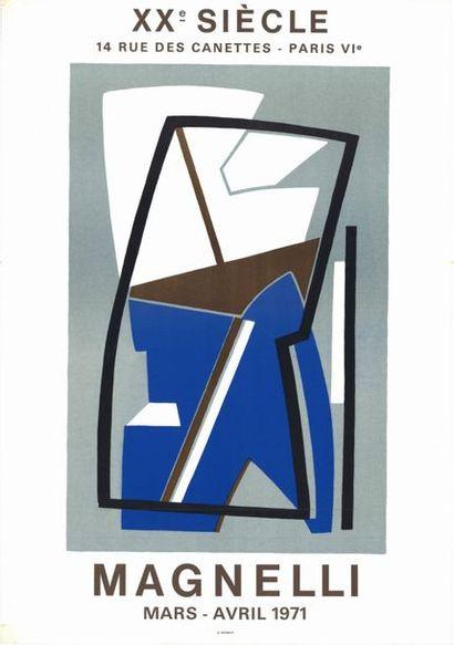 René MAGNELLI - 1975 - 2 affiches