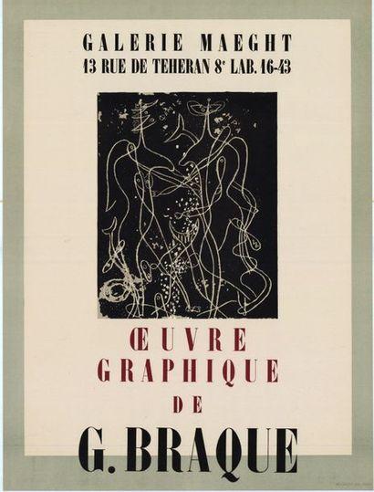 Georges BRAQUE - 2 affiches