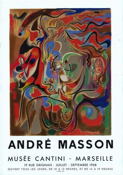 André  MASSON - 1968
