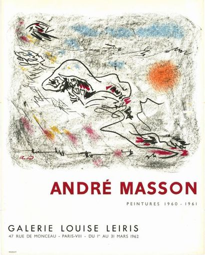 André  MASSON - 3 affiches