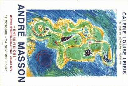 André MASSON - 1973