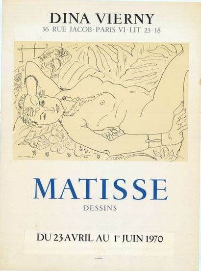 Henri MATISSE - 1970