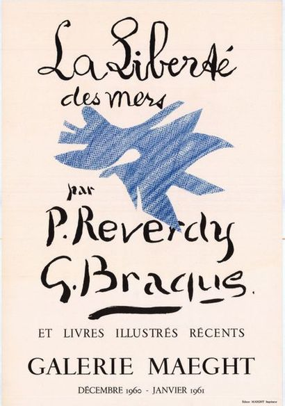 Georges BRAQUE  - 1958 /1960 - 2 affiches