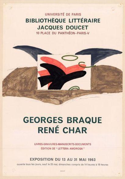 Georges BRAQUE - 1963