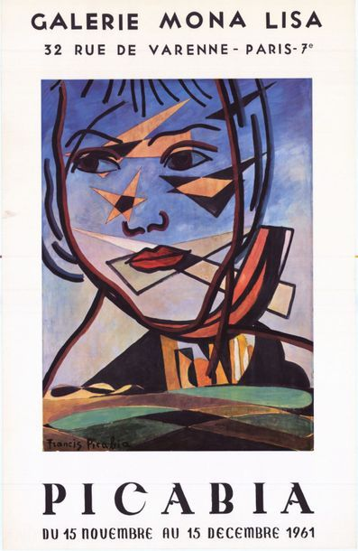 Francis PICABIA - 1961/1962 - 2 affiches