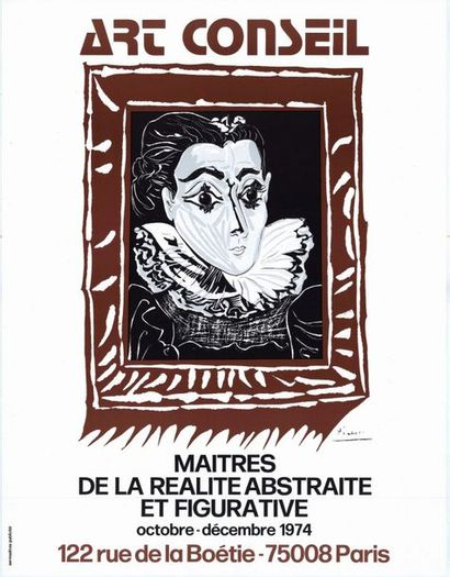 Pablo PICASSO - 1972 - 2 affiches