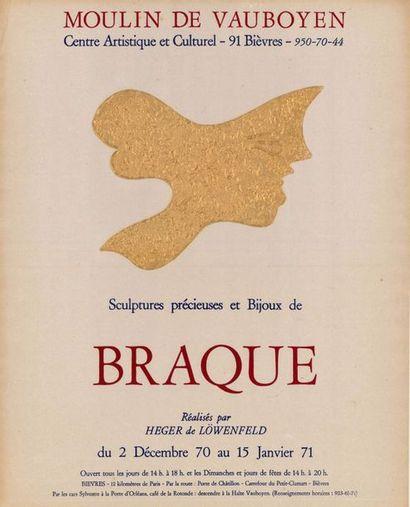 Georges BRAQUE - 1971 - 2 modèles