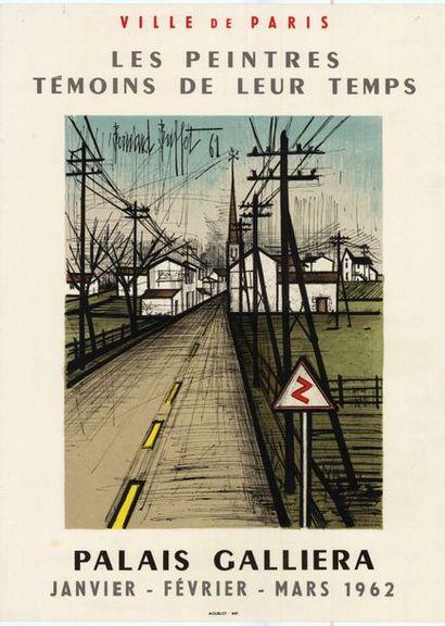 Bernard BUFFET - 1958/1961 - 2 affiches