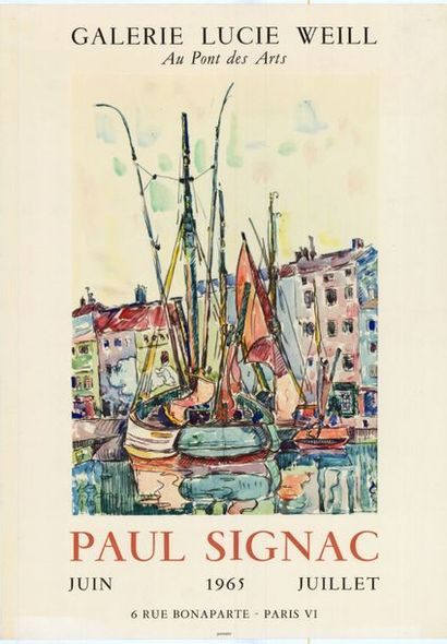 Paul SIGNAC - 1965 - 2 affiches