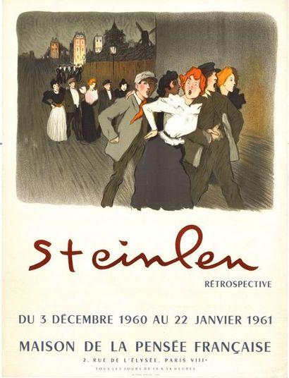 Théophile Alexandre STEINLEN - 1960