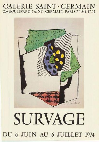 Leopold SURVAGE - 2 affiches