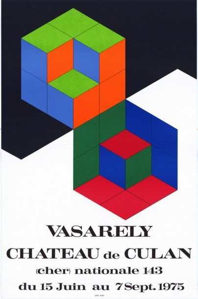 Victor VASARELY - 1973/1975 - 2 affiches