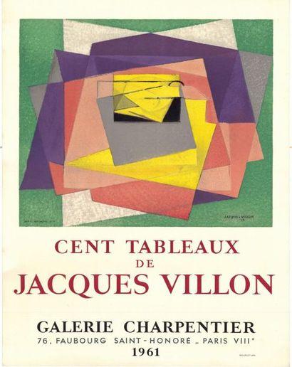 Jacques VILLON - 1960/1961 - 2 affiches
