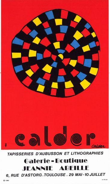 Alexander CALDER - 2 affiches
