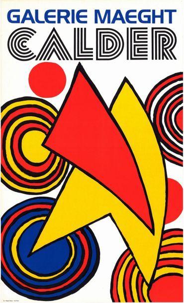 Alexander CALDER - 1968 - 2 exemplaires