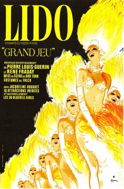 René GRUAU- LIDO - 1973
