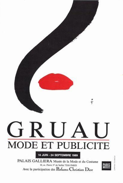 René GRUAU - MODE ET PUBLICITE