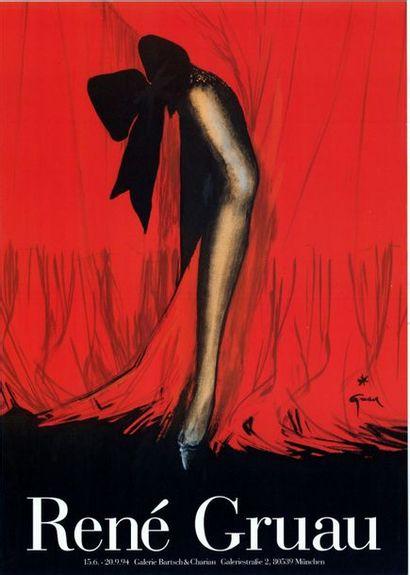 René GRUAU - THEATRE DE LA MODE - 2 exemplaires