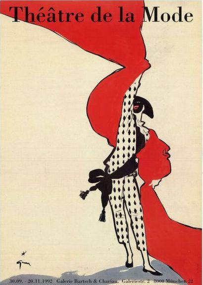 René GRUAU - THEATRE DE LA MODE