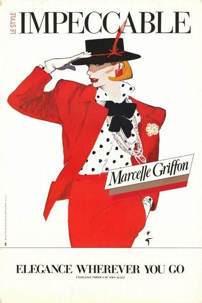 René GRUAU - MARCEL GRIFFON