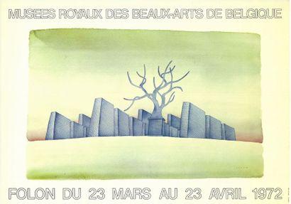 Jean-Michel FOLON - 3 affiches