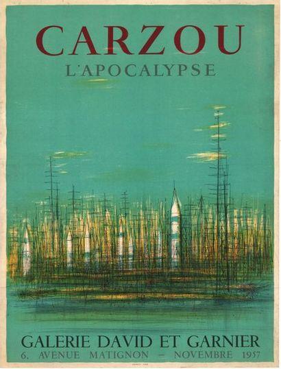 Jean CARZOU - 1958 - 2 affiches