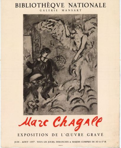 Marc CHAGALL - 1957 - 1970 - 2 affiches