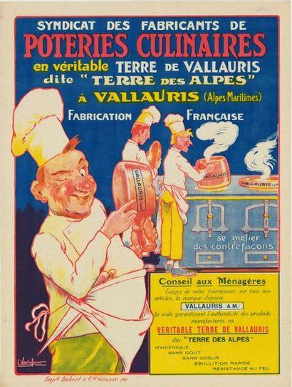 EUGENE VAVASSEUR - POTERIES CULINAIRES