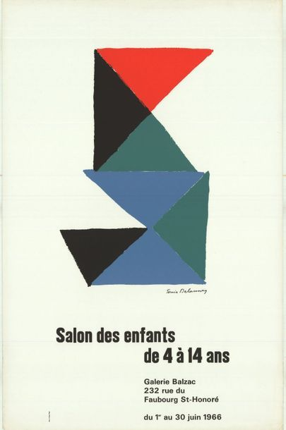 SONIA DELAUNAY - SALON DES ENFANTS
