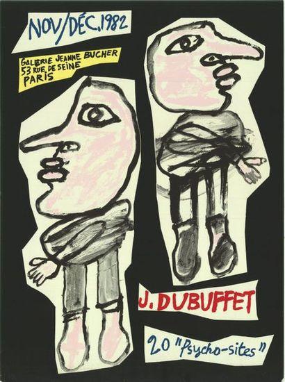JEAN DUBUFFET - 20