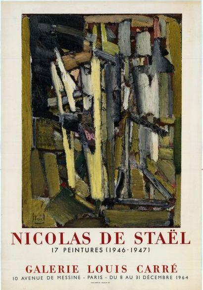 Nicolas DE STAEL - 1964 - 1979 - 2 affiches