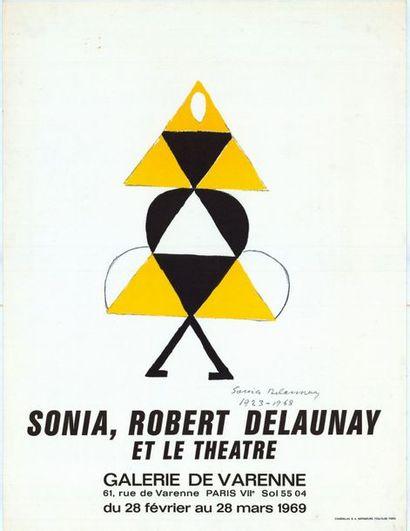 Sonia DELAUNAY - 1969