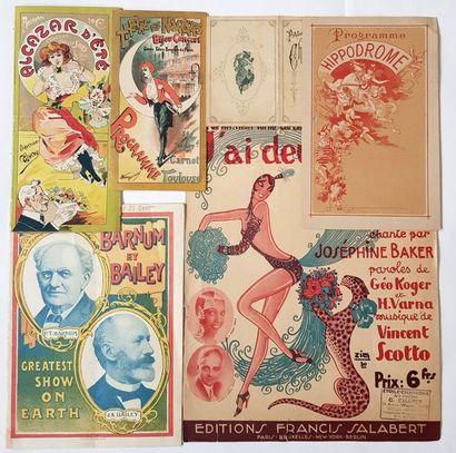 PROGRAMMES 1900-1930