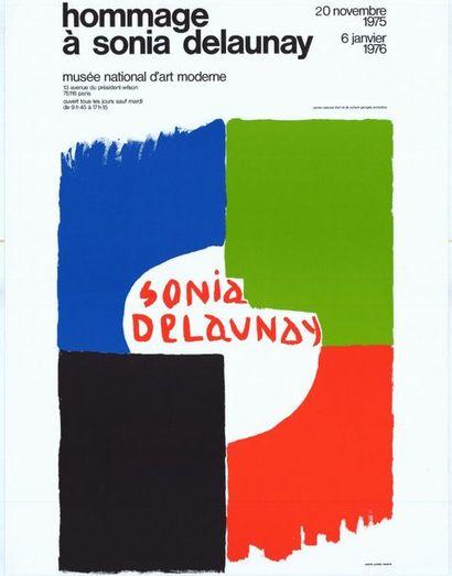 Sonia DELAUNAY - 1976