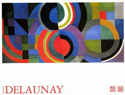 Sonia DELAUNAY - 2 affiches