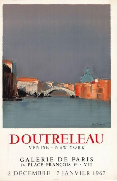 Pierre DOUTRELEAU - 3  affiches