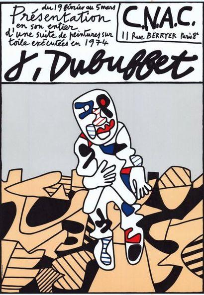 Jean DUBUFFET - 1974 - 4 exemplaires