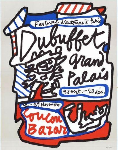 Jean DUBUFFET - 1973 - 4 exemplaires