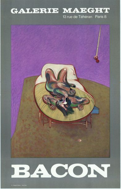 Francis BACON - 1966 - 2 affiches