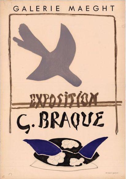 Georges BRAQUE - 1956