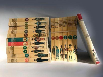 FUNCKEN. Ce lot comprend 18 volumes:  -«costumes,...