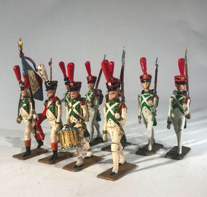 Ier Empire. France. Infanterie de ligne....