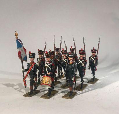 Ier Empire. France. Infanterie légère de...