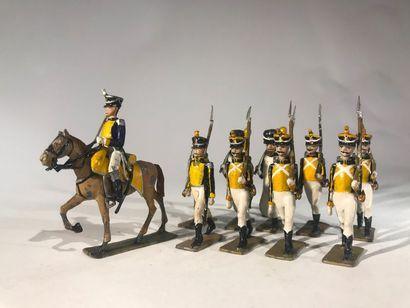 Ier Empire. France. Légion de la Vistule....