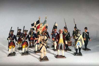 Ancien Régime. Epoque Louis XV et Louis XVI....